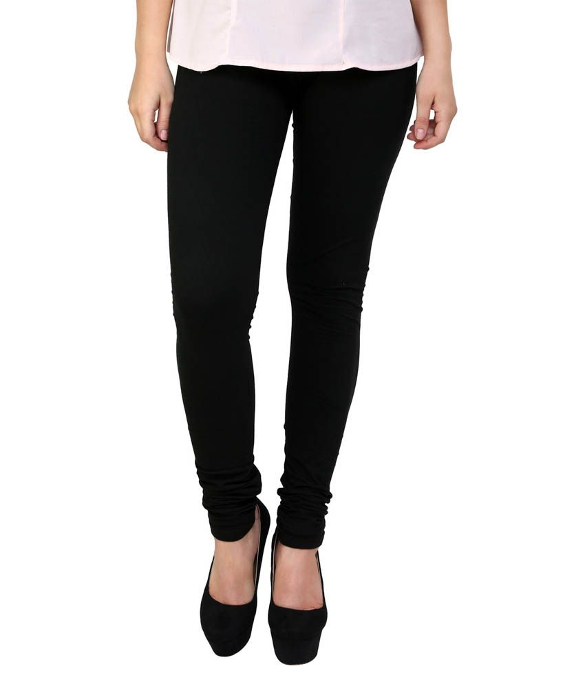 2239163e268b45 Zara International Black Cotton Leggings Price in India - Buy Zara  International Black Cotton Leggings Online at Snapdeal