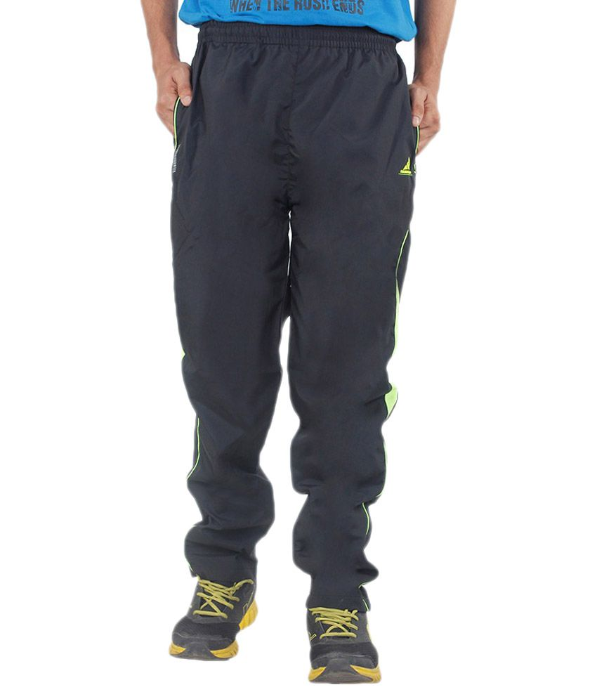 Hannspree Black Polyester Trackpant