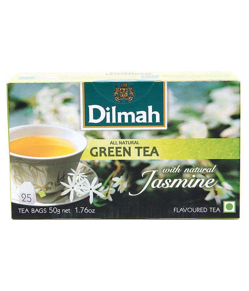 Dilmah Green Tea With Jasmine 2520g Tea Bags Buy Dilmah Green Tea