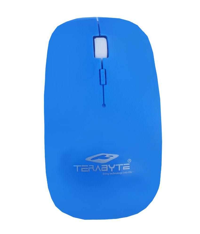 Terabyte Tbmw-023 Wireless Mouse Blue