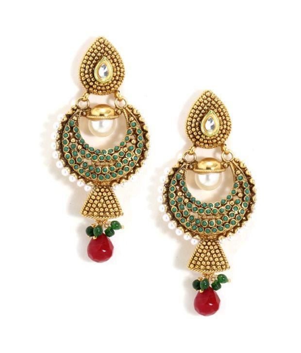 Bindhani Regal Style Diva Earrings