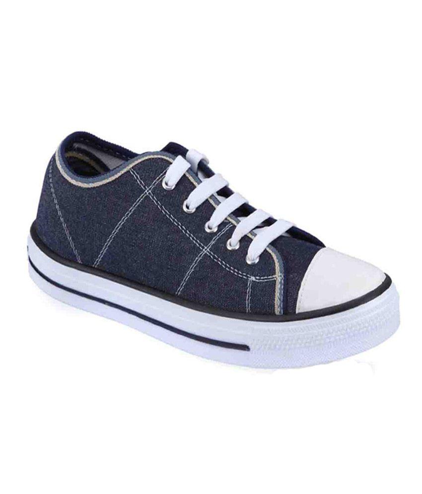 UniStar Blue Canvas Shoes