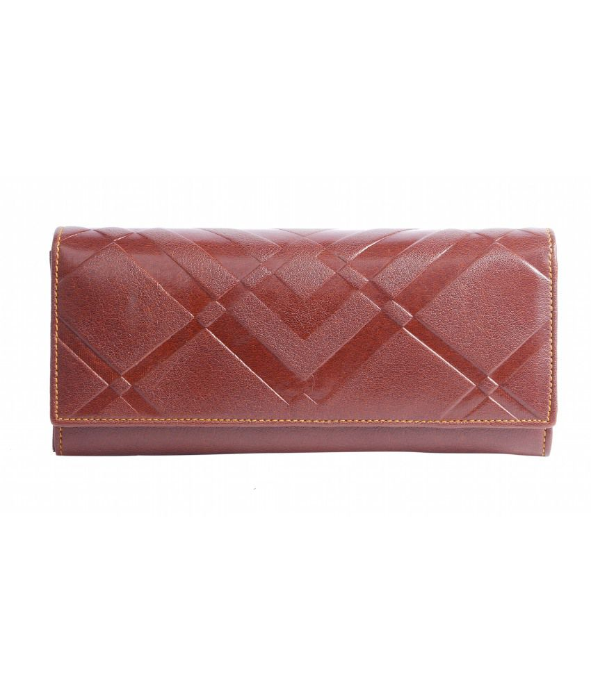 Celladorr Non Leather Brown Women Regular Wallet