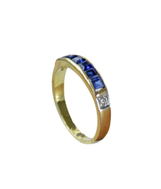 Kataria Jewellers Colour Spark Womens Ring