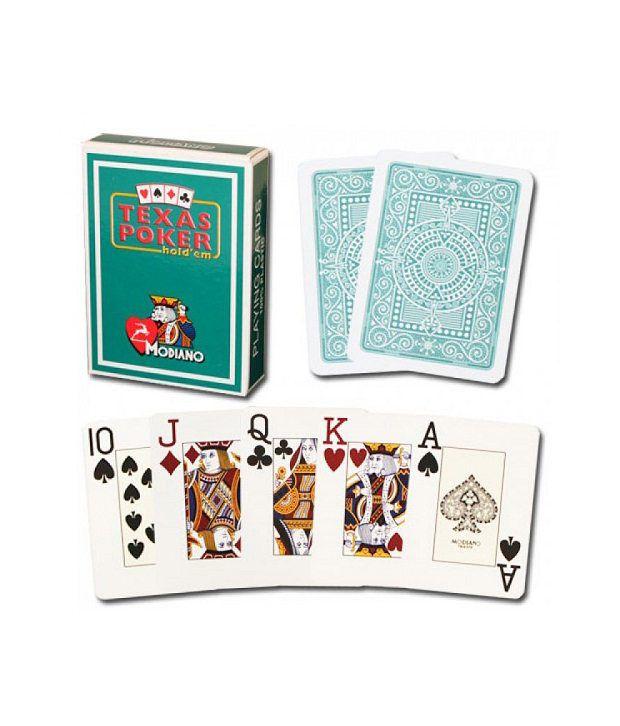 Modiano Texas Poker Jumbo - Dark Green
