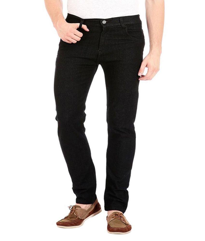 Cool Black Regular Fit Jeans