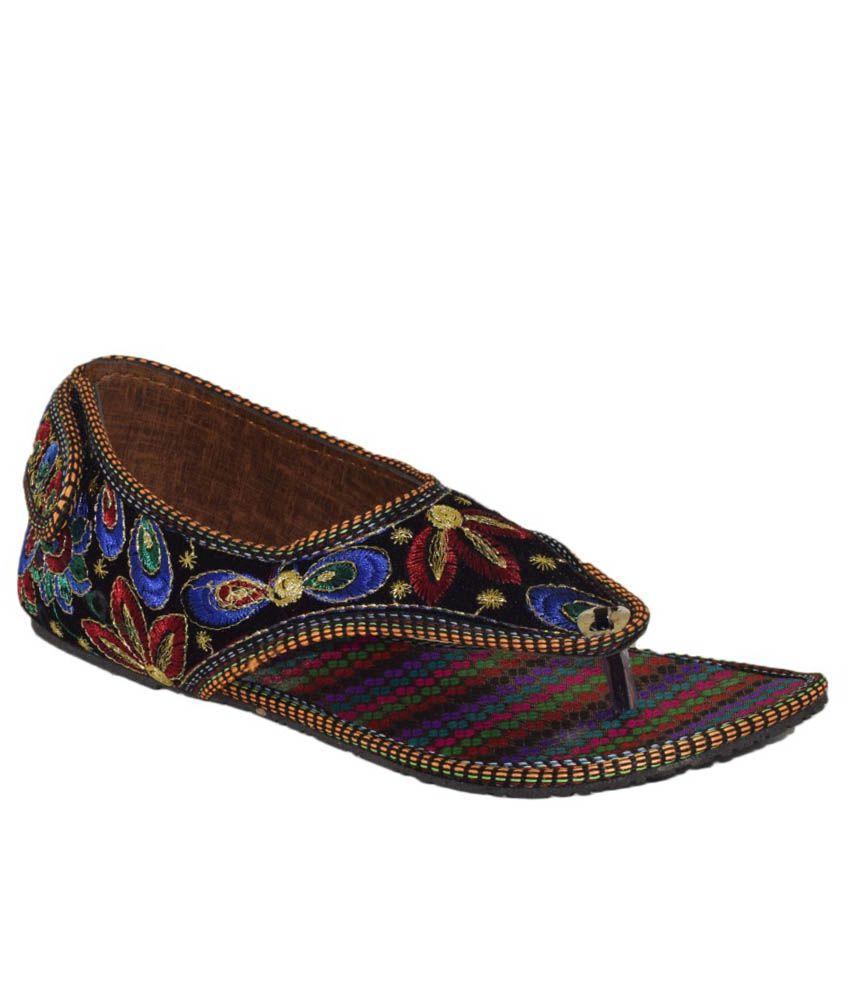 Yatha Multicoloured Flat Sandals