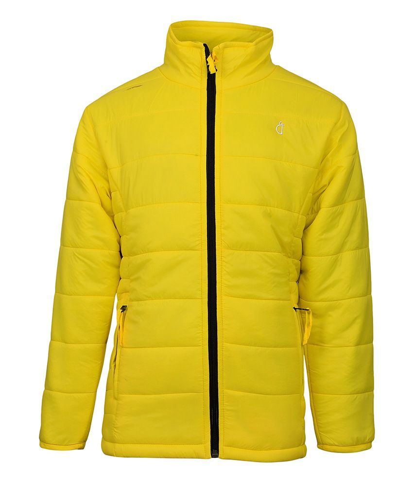 Gini & Jony Yellow Without Hood Jacket