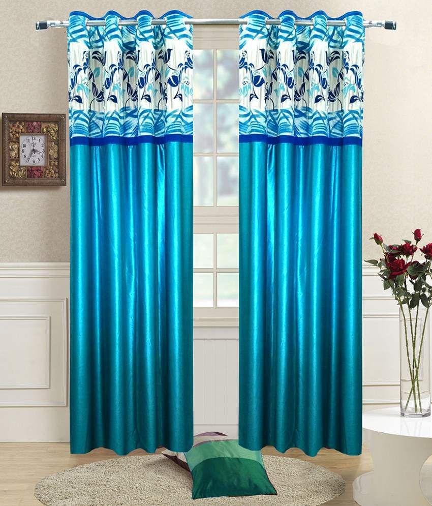 Homefab India Set of 2 Window Eyelet Curtains - Buy ...