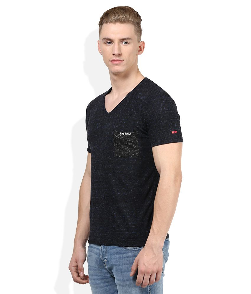 Black t shirt snapdeal -  Being Human Black T Shirt