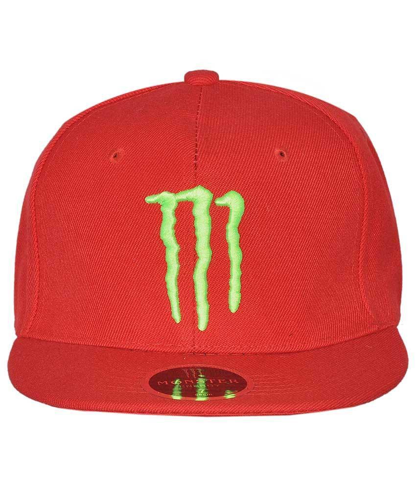 Cravers Red Cotton Baseball Cap