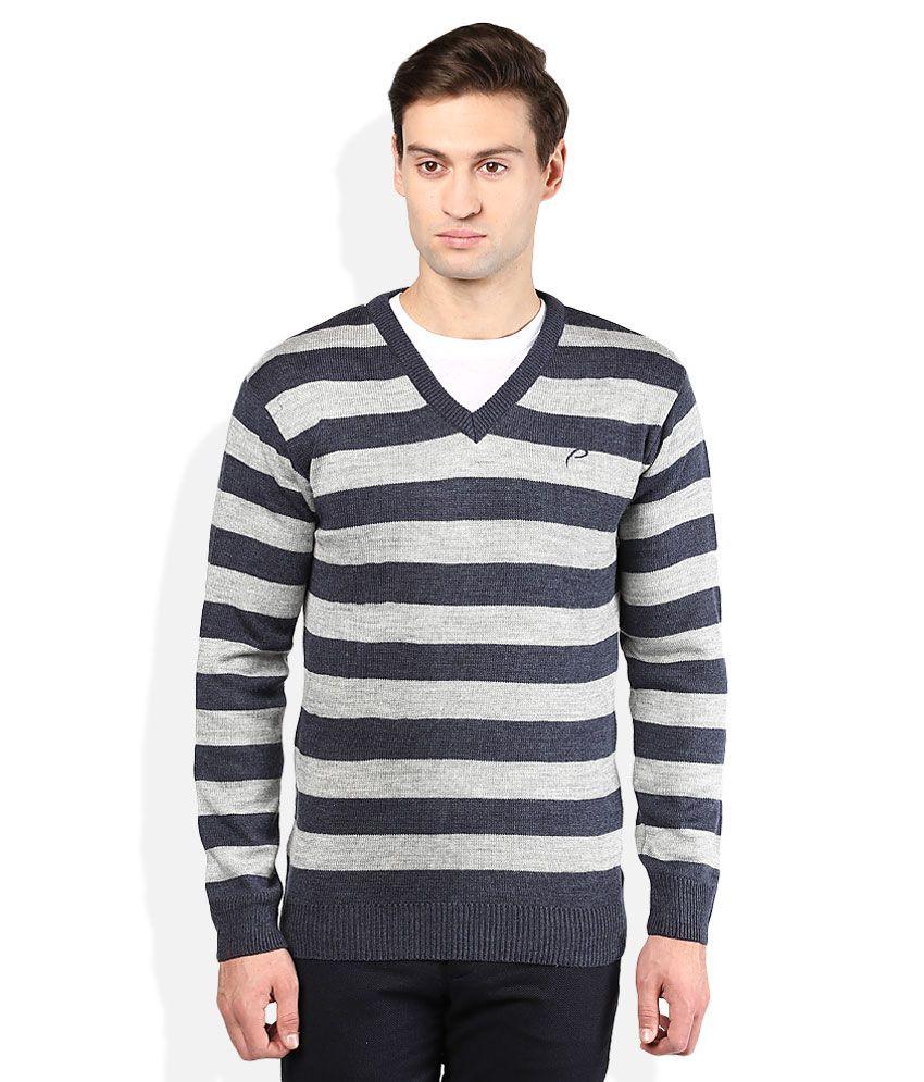 Proline Navy V-Neck Sweater