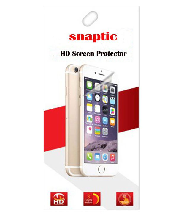 Snaptic Clear Screen Guard For Sony Xperia C5 Ultra - Set Of 4