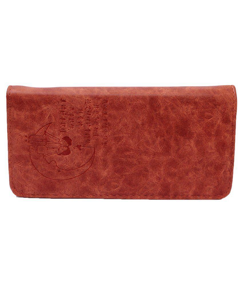 Zakina Red Casual Regular Wallet