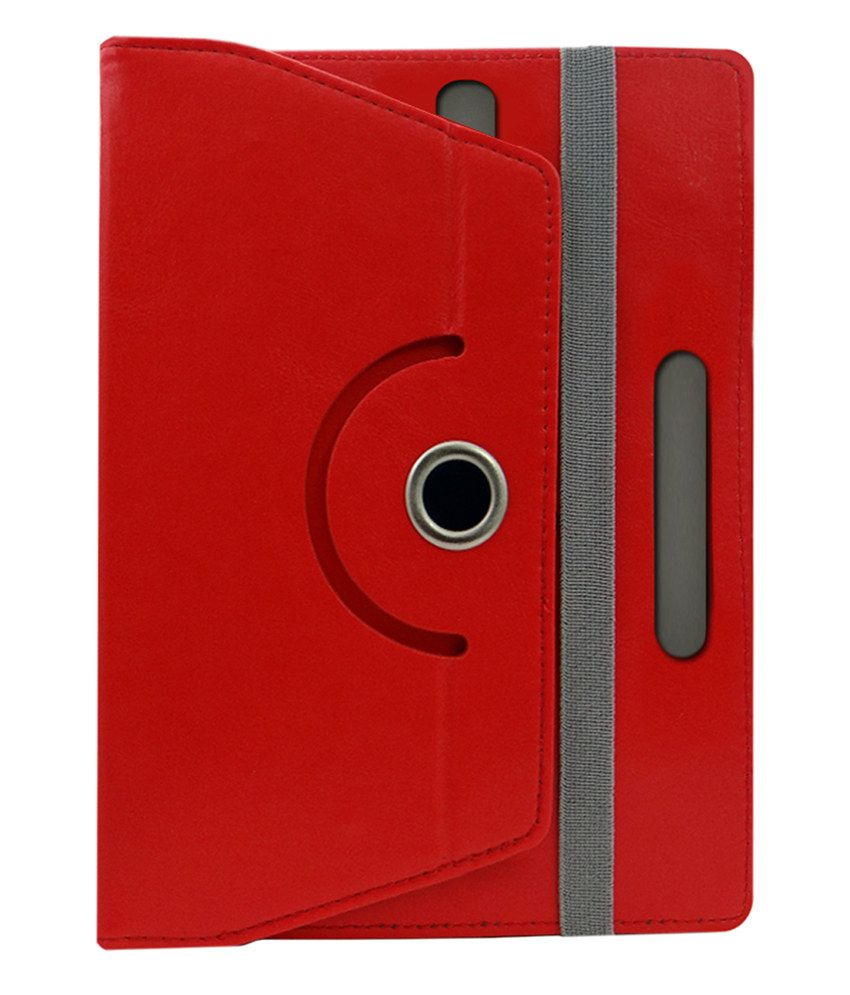 newest 63caa 795d3 ACM Back Cover For Micromax Canvas Tab P680 - Red