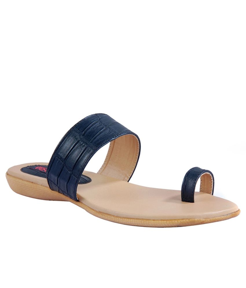Amora Blue Slip Ons