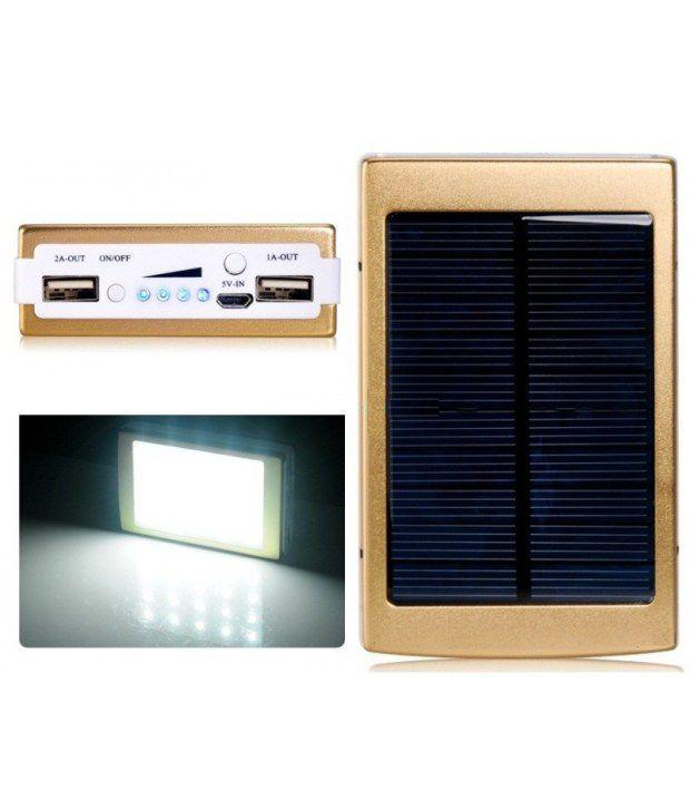 Callmate 13000 mAh Li Ion Solar Power Bank