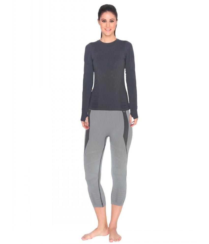 Buy C9 Seamless Yoga Full Sleeves T-Shirt & Track Pant