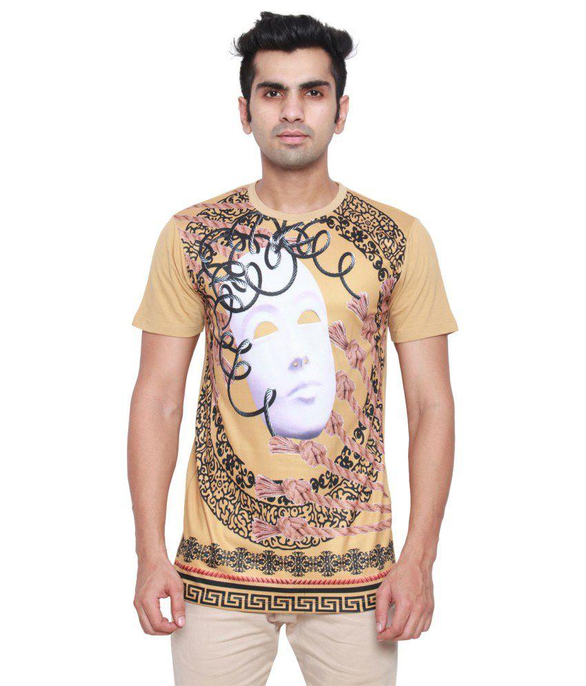 Ddi Beige Cotton Blend T-Shirt