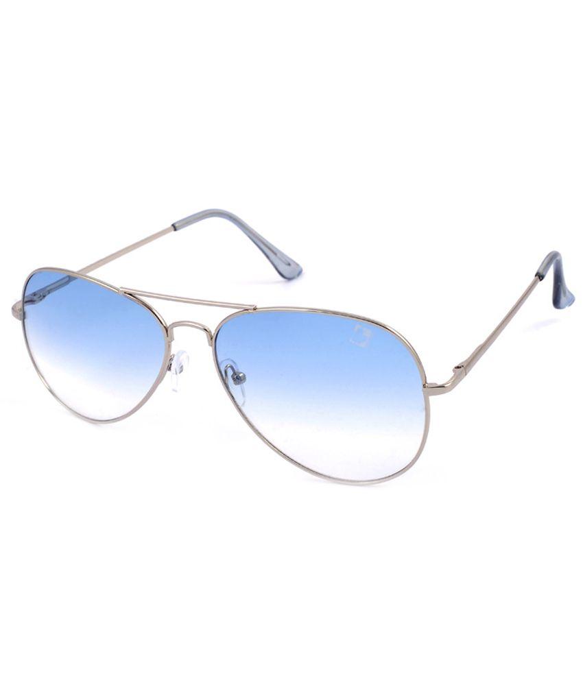 Ragmel Blue Medium Unisex Aviator Sunglasses