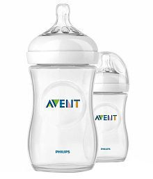 Philips Avent Natural Bottle 330ml (Twin Pack)