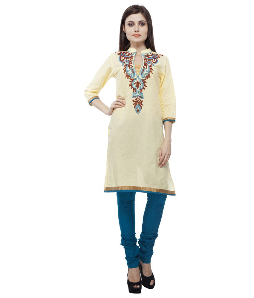 9 Fab Yellow Cotton Stitched Suit