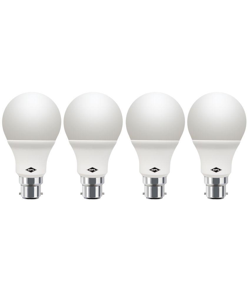 Hpl-White-9w-Led-Bulbs-Pack-Of-4