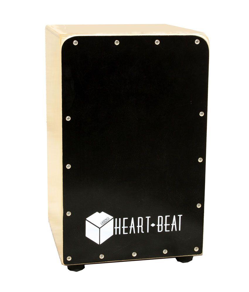 Kadence Heartbeat Cajon - Black