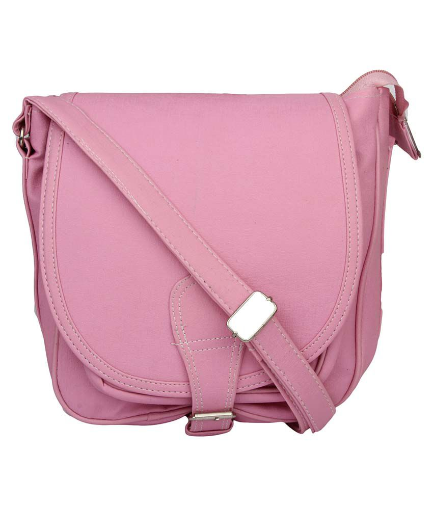 Prepra Iris Handbag Pink Color