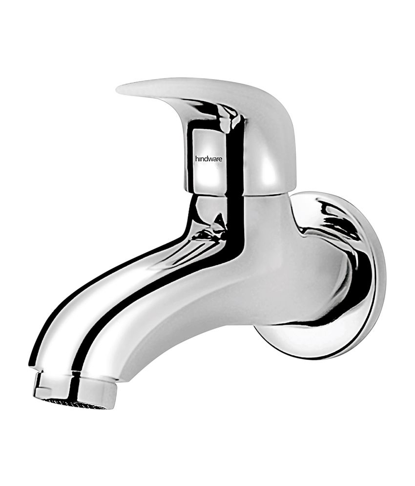 Hindware-Essence-Wall-Mounted-Bib-Cock-With-Wall-Flange-(f130002cp)