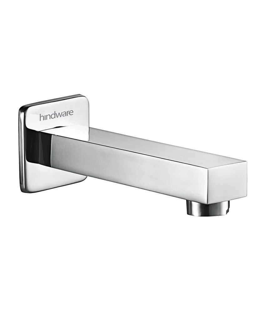 Buy Hindware Rubbic Square Design Bath Tub Spout Tap (F190007CP ...