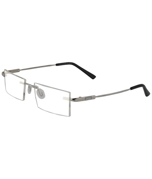 df90ec21fba Zyaden Men Rectangle Rimless Frame Eyeglasses - Buy Zyaden Men Rectangle  Rimless Frame Eyeglasses Online at Low Price - Snapdeal