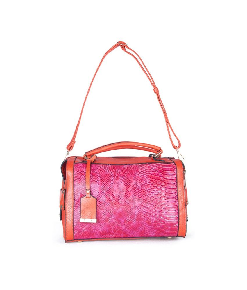 Carry On Handbags Red Satchel Bag