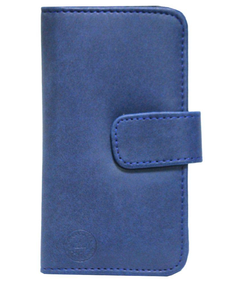 Jo Jo Flip Cover for Samsung Galaxy S Duos 3 - Dark Blue