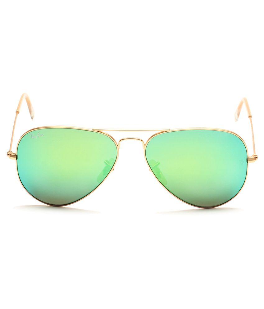 Ray ban sunglasses with price -  Ray Ban Green Aviator Sunglasses Rb3025 112 19 62 14