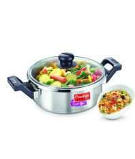 Prestige Clip On Series Stainless Steel Multi-Tasking Pressure Cookware - 3 Litre