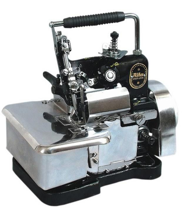 Rita Silver Overlock Sewing Machine Price In India Buy Rita Silver Mesmerizing Overlock Sewing Machine Price India