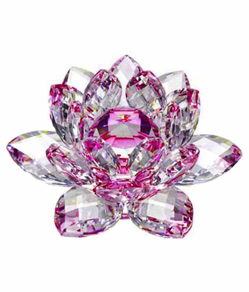Siddhi Aura Pink Crystal Lotus Flower Buy Siddhi Aura Pink Crystal