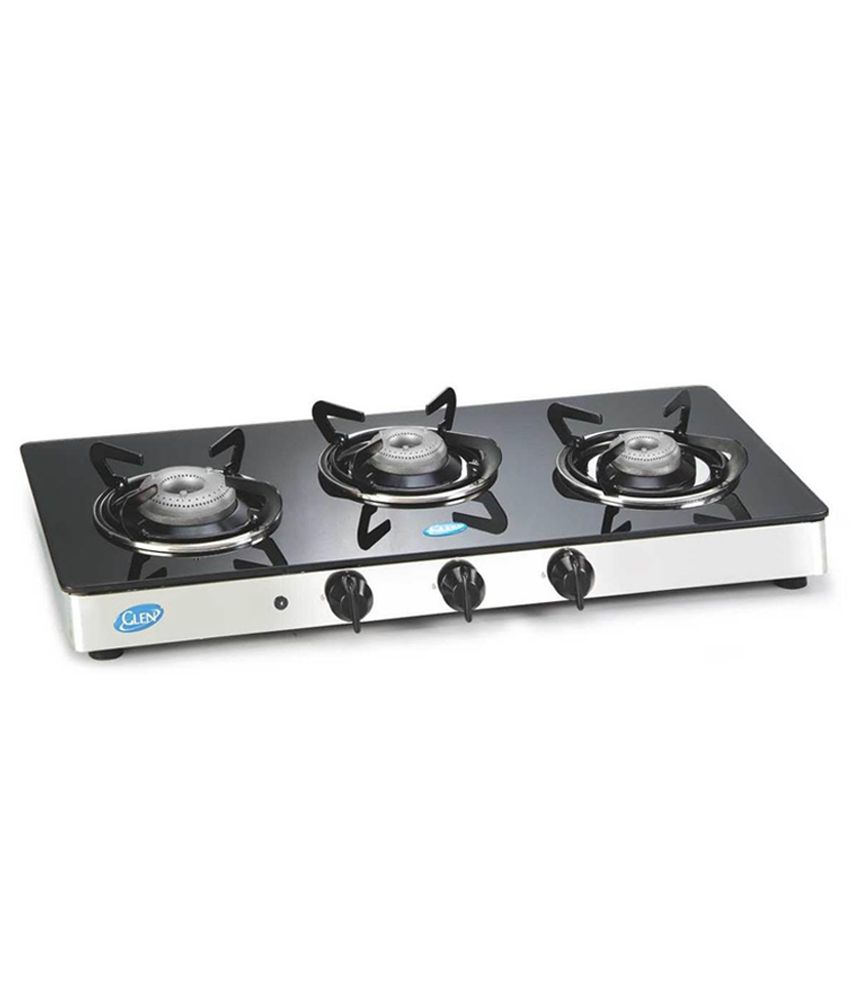 Gas Cooktop Glass Glen Gl 1033 Gt Al Ai Glass Cooktop Price In India Buy Glen Gl