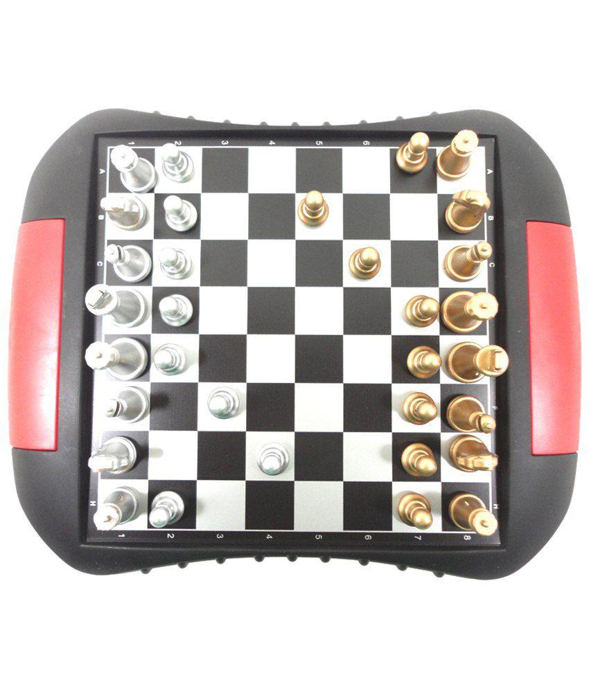 Kidzvilla Black & White Magnetic Chess