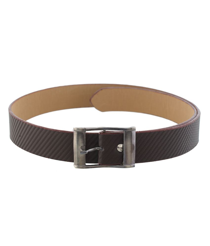 Mall4all Brown Stylish Belt for Men