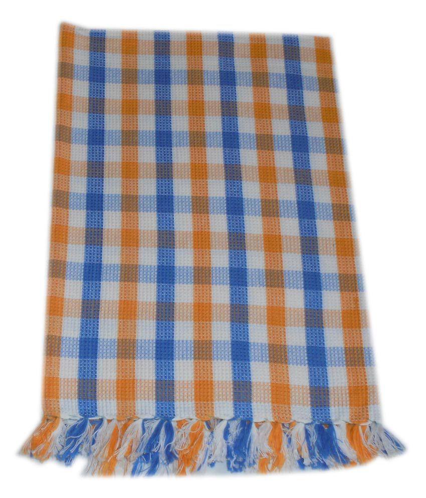 Tidy Single Cotton Bath Towel - Multi Color