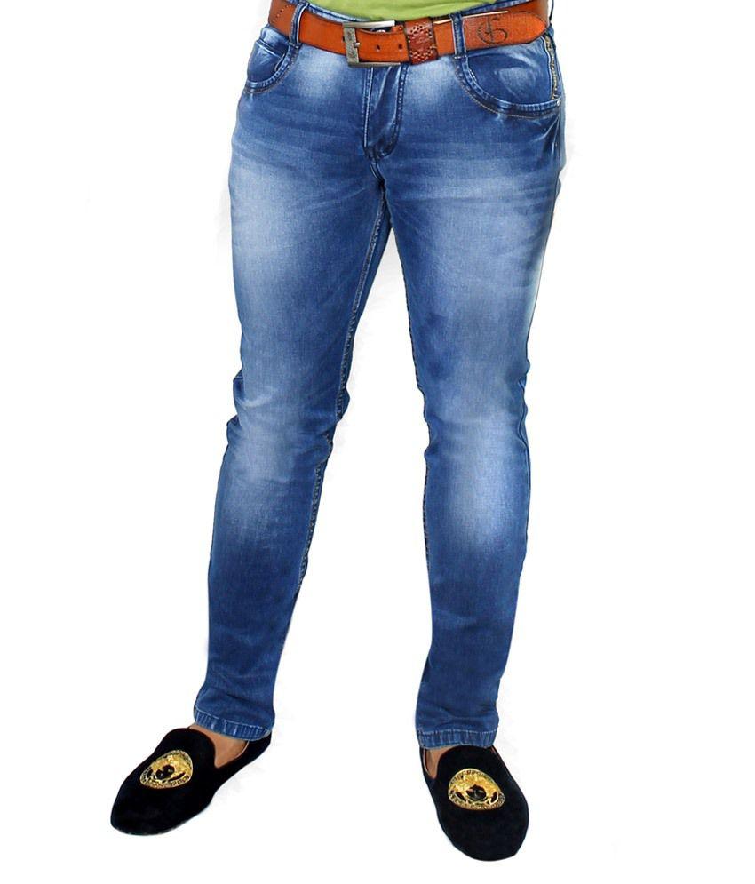 GOB Blue Slim Fit Jeans