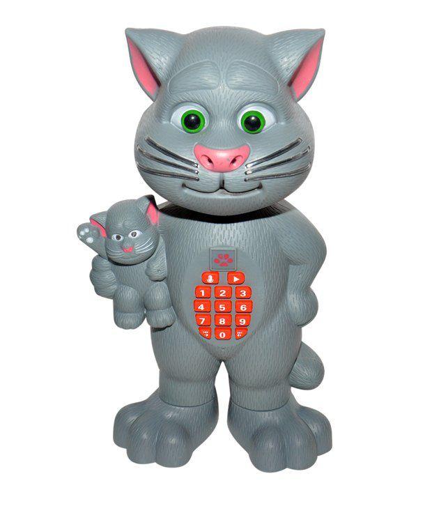 Rk Toys Multicolor Plastic Cute Talking Tom Cat Buy Rk Toys