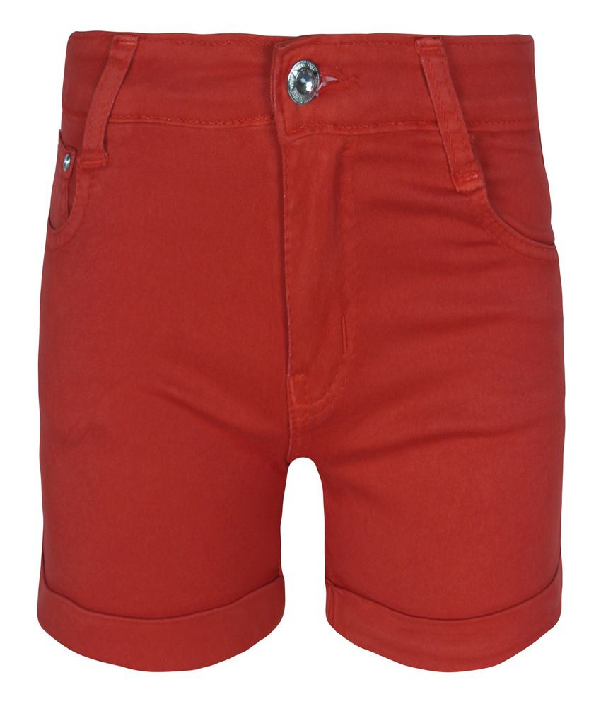 Jazzup Red Shorts