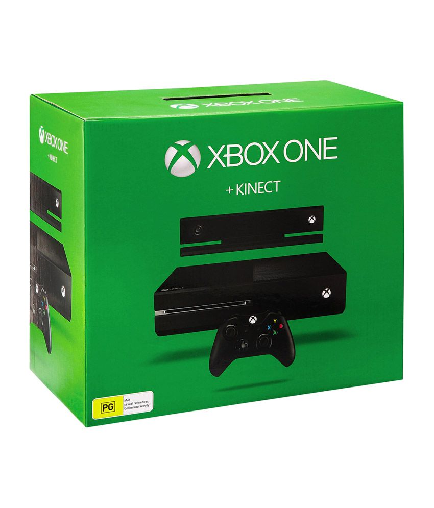 Microsoft Xbox One 500 GB Console with Kinect