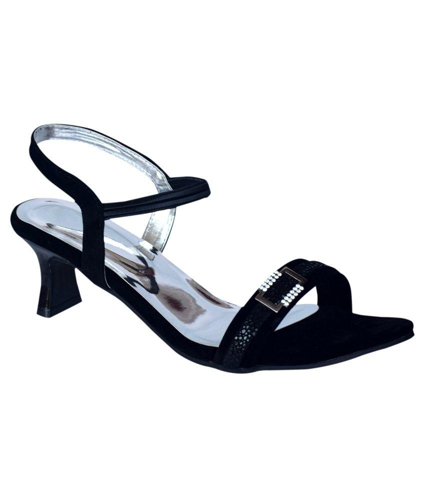 Apick Black Heels
