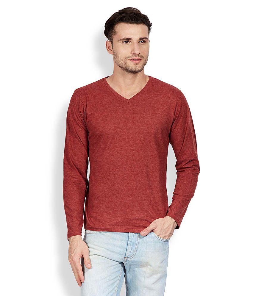 Highlander Red V-Neck T-Shirt