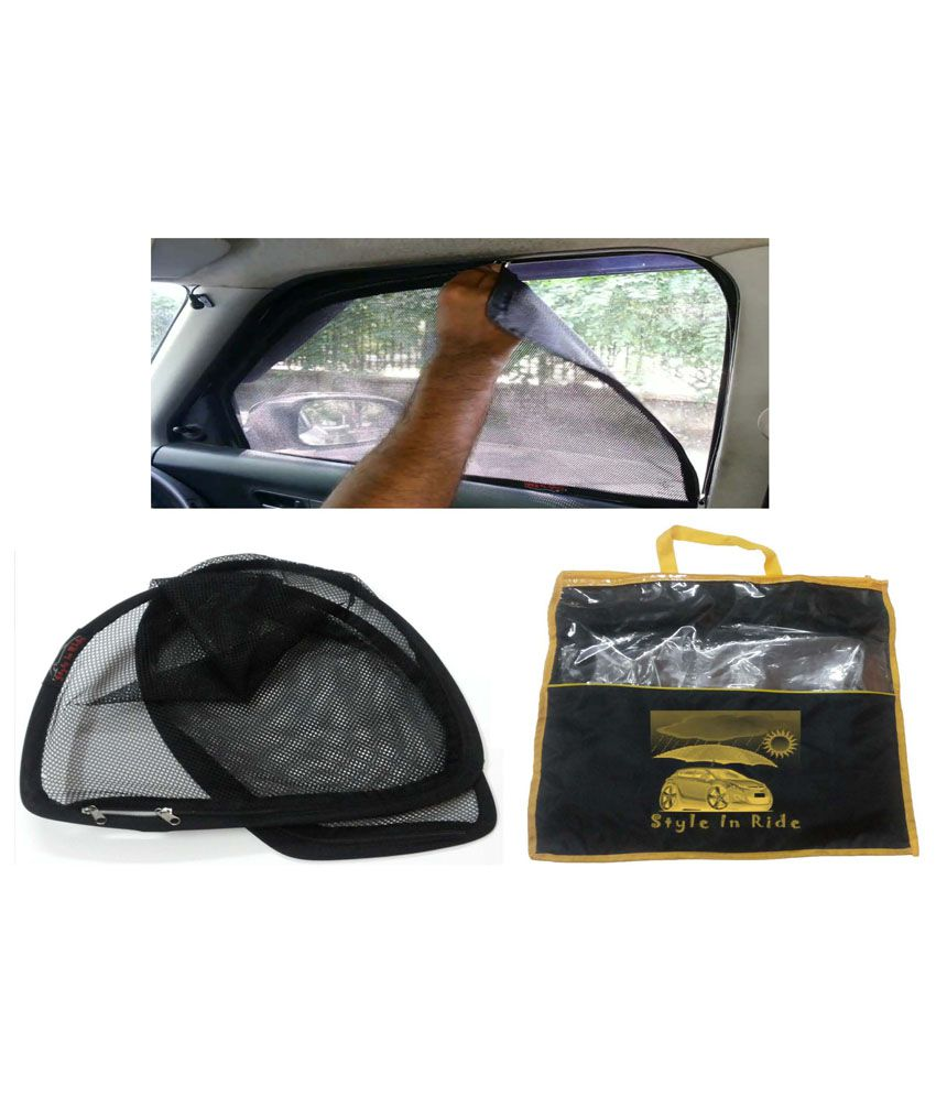 Style In Ride Black Car Window Sun Shade For Maruti Alto 800 - Set Of 4   Buy Style In Ride Black Car Window Sun Shade For Maruti Alto 800 - Set Of  ... a591a2c5fcb
