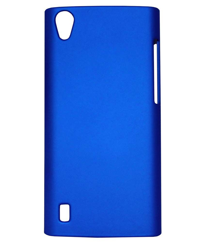 pretty nice fa4f1 5184f FCS Back Cover For Vivo Y15 Blue